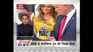Speed News: PM Modi returns from three-nation tour, received by Sushma Swaraj