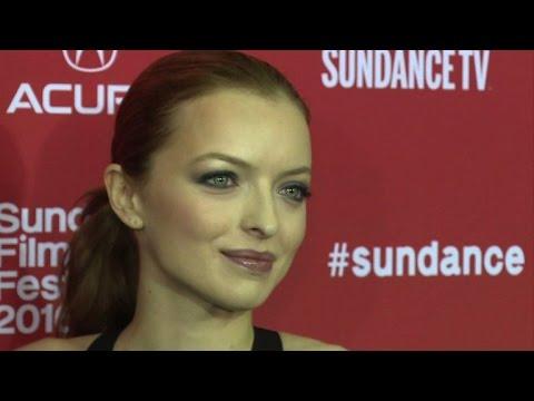 Francesca Eastwood On Sundance Red Carpet