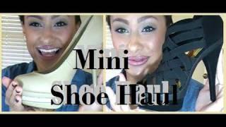 ♥ Mini Shoe Haul ♥