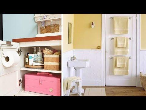 Bathroom Storage Ideas - Storage For Small Bathrooms