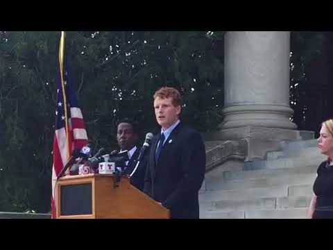 Rep. Kennedy calls for unity after Charlottesville