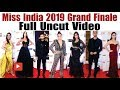"Bollywood Stars Spotted At The Red Carpet Of ""Miss India 2019 Grand Finale"" 