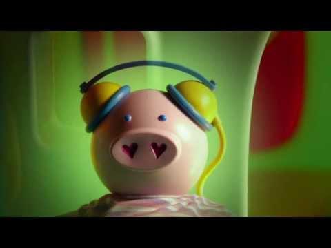 A poupança dos porquinhos mealheiros