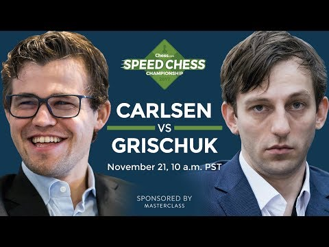 Speed Chess Championship: Magnus Carlsen Vs Alexander Grisch
