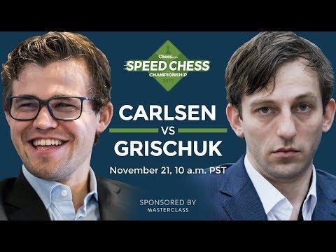 Speed Chess Championship: Magnus Carlsen Vs Alexander Grischuk