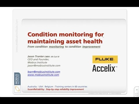 Best Practices Webinar: Condition Monitoring For Maintaining Asset Health