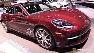 2019 Porsche Panamera 4S - Exterior and Interior Walkaround - 2019 Chicago Auto Show