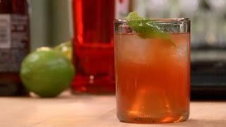 Victory No. 9 Mezcal Cocktail