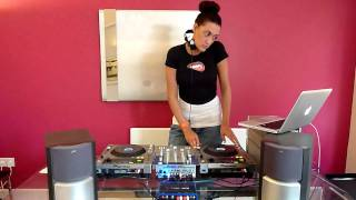 Queen of Clubs - Female DJ - Live Demo (Part 2 of 2)