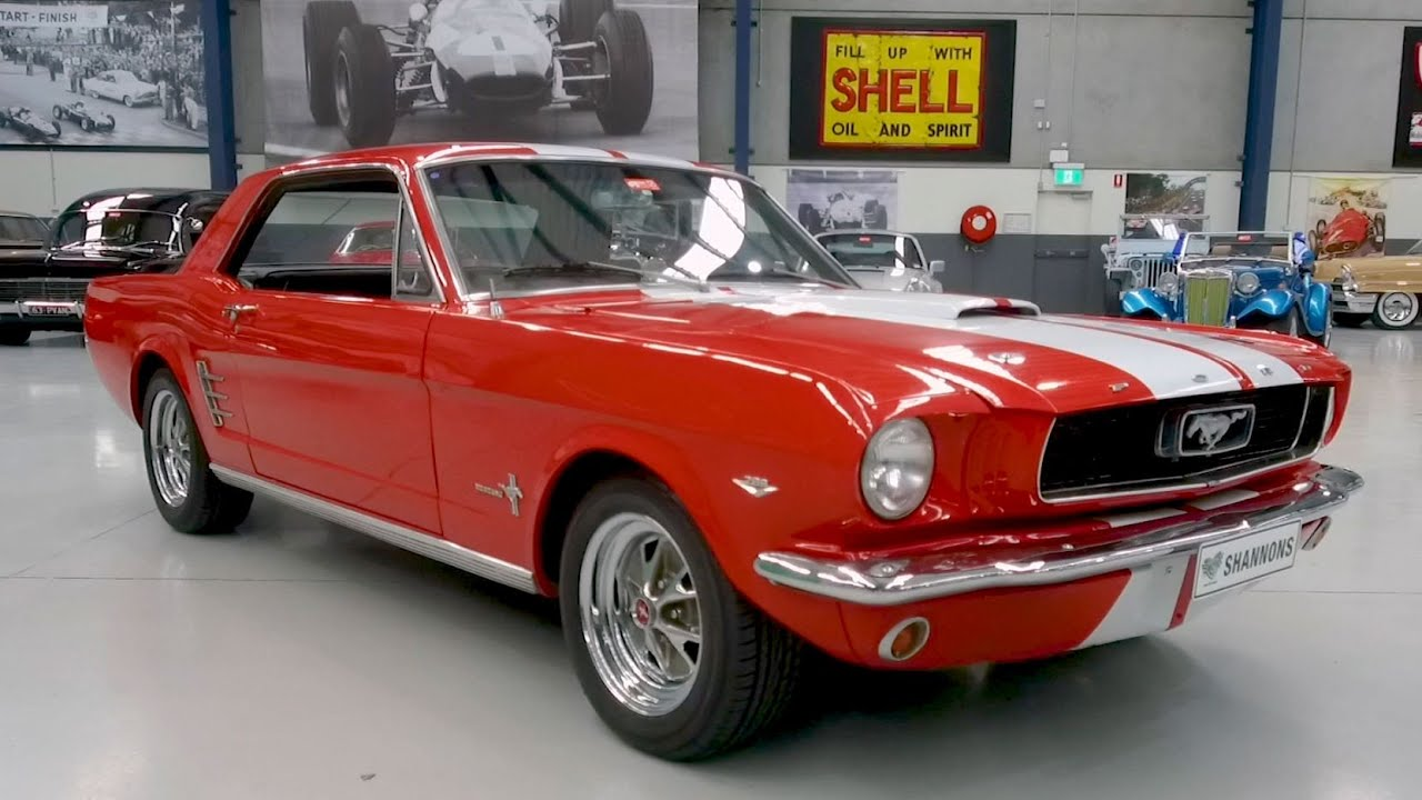 1966 Ford Mustang Coupe (LHD) - 2020 Shannons Winter Timed Online Auction
