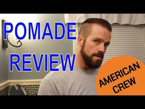 Pomade Review (American Crew)