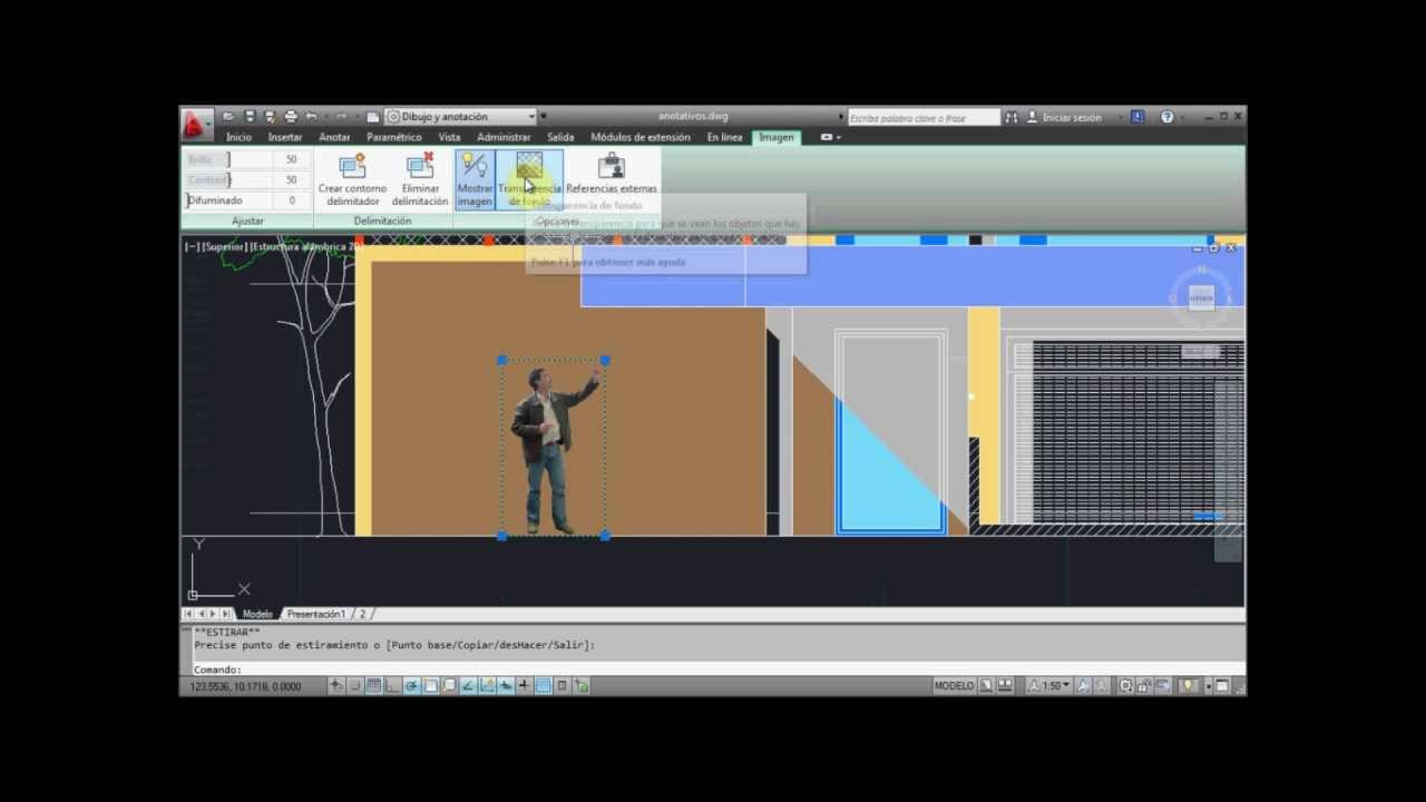 Insertar imagenes Autocad 2012 | FunnyDog.TV