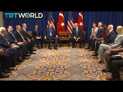 Turkey-US Relations: Erdogan and Trump hold talks on regional issues
