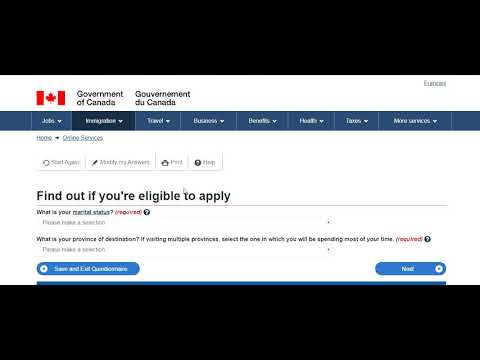 Check Your Eligibility For Canada Immigration Visa (Study, Work, PR, Visit) Yourself