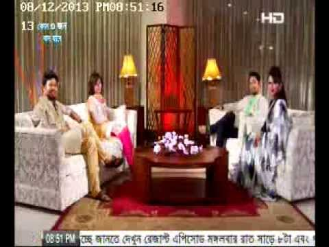 celebrity talk show valobasar sondhi (shokh_adnan) @ Tamim Hasan & Faria