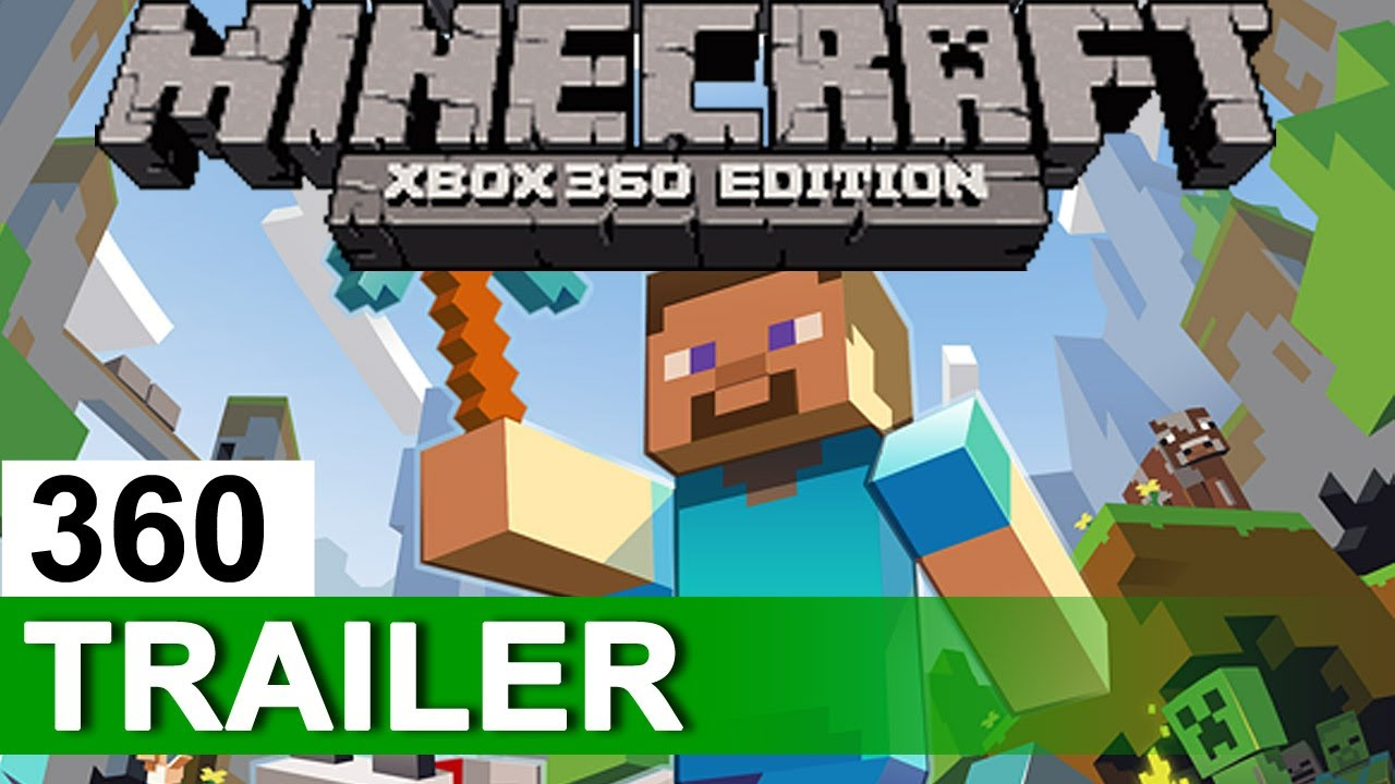 MINECRAFT Xbox Edition Official Multiplayer Trailer XBLA - Minecraft online spielen xbox 360