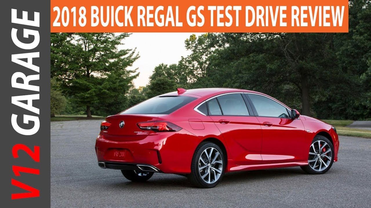 2018 Buick Regal Gs Awd Review And Specs
