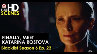 Finally, meet Katarina Rostova Blacklist Season 6 Ep  22 Full HD