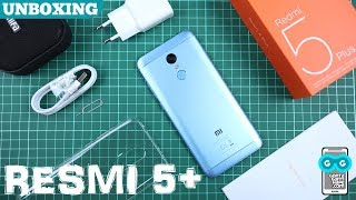 5 MENIT UNBOXING - Xiaomi Redmi 5 Plus / Garansi Resmi TAM / Warna Biru