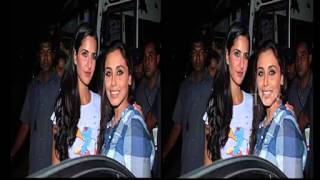 Katrina Kaif & Rani Mukherjee Kiss Leaked   Video Dailymotion 2