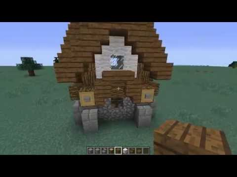 Minecraft-Orta Çağ Evi Nasıl Yapılır? (Medieval House Tutorial!)