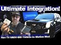 Ultimate Integration! NavTV M650 GM + Vehicle in Motion Mod - Cadillac Escalade System Install Vid 2