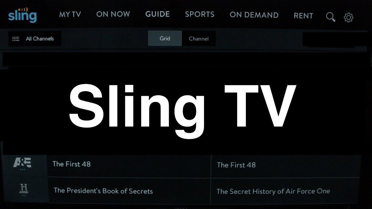 Sling Tv On Lg Smart Tv Review Youtube