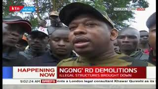 Governor Sonko: I didn\'t know about the Ngong Road demolitions