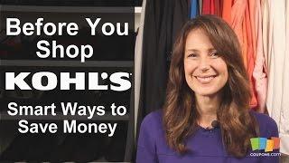 Kohl's: Smart Ways to Save Money