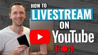 How to LIVESTREAM on YouTube - Complete Beginner Guide!