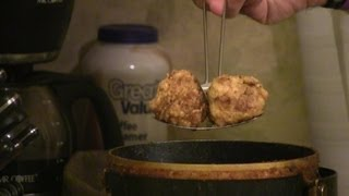 Fried Mac & Cheese Balls At Moonshines Roadhouse
