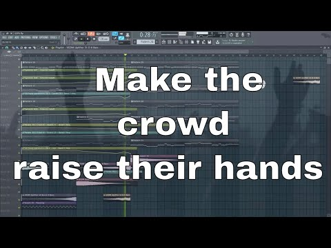 How to make Breathtaking EDM Chords - Build Up. Make the Crowd raise their hands.