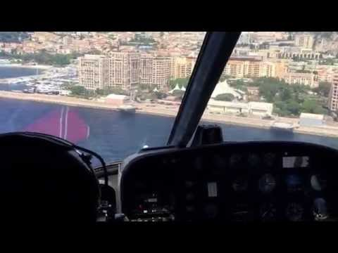 Helicopter Transport from Nice to Monaco