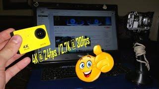 eken h9 firmware upgrade 4k 25fps