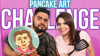 PANCAKE ART CHALLENGE | Ft. VERO | EL GUZII