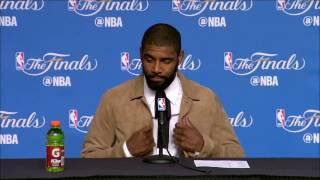 Kyrie Irving Postgame News Conference | Warriors vs Cavs Finals Game 4 | June 9, 2017