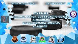 Турнир памяти героя Советского Союза А. Махнева среди команд 2008г.р.
