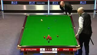Ronnie o'sullivan Vs David Grace •R3• |Welsh Open 2018|