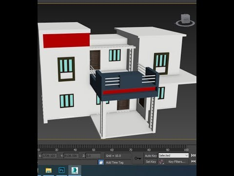 3ds max Building Modeling Tutorial Part 1 thumbnail
