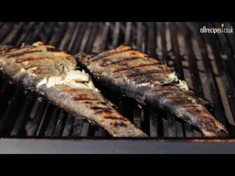 How To BBQ Fish Video - Barbecued Stuffed Trout