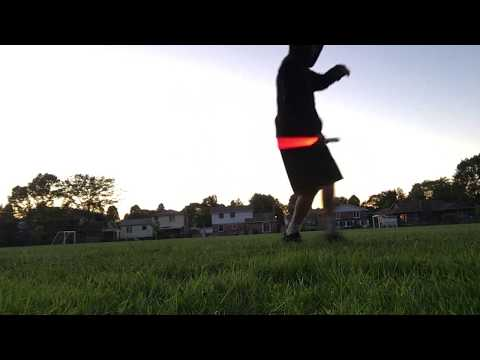Light Saber Practice at Dusk