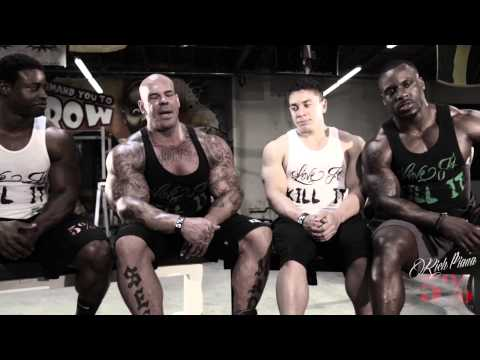 Bodybuilder TALK: FOOD n' DIET Pre Comp - Rich Piana
