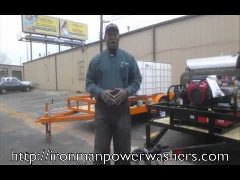 Pressure Washer Trailer Rent to Own - No Credit Needed!