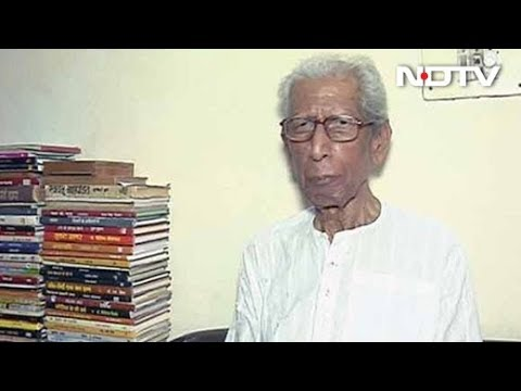 In Conversation With Renowned Hindi Writer Namwar Singh