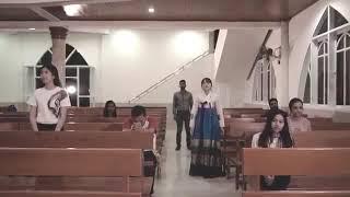 Lagu rohani seperti rusa rindu dalam 5 bahasa (indonesia,inggris,jepang,india,korea)Paskah Asia 2017