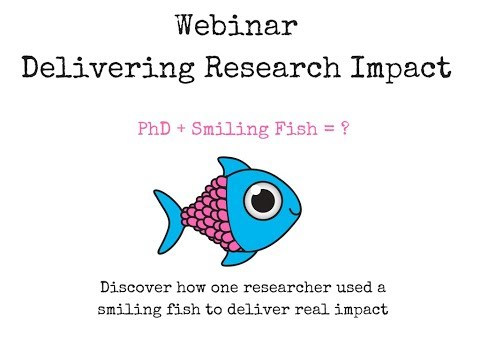 Webinar - How to Deliver Impact from your Research or Sustainability Project