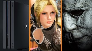 Ubisoft Says No More Consoles + Dead or Alive 6 Announced + First Halloween Sequel Trailer!
