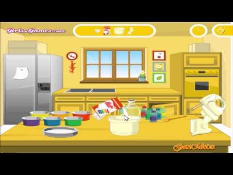 GAME BÁNH GATO PHÁP- Vào bếp làm bánh gato ngon nhé   Foci