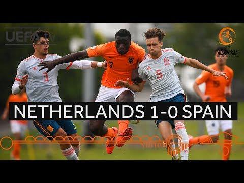 #U17 Semi-final highlights: Netherlands 1-0 Spain