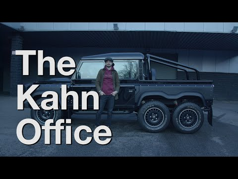 V8 Land Rover Defender 6X6X6 | The Kahn Office